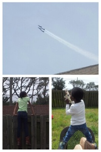 Watching Blue Angels