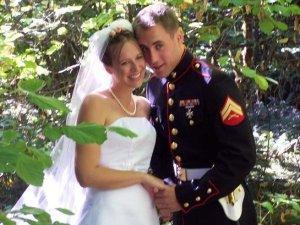 wedding pic blurry